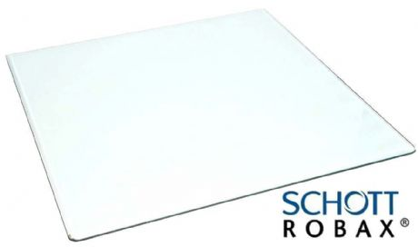 Portway Unknown Model - Stove Glass 260 x 254mm